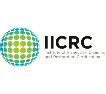 We are certified by the IICRC